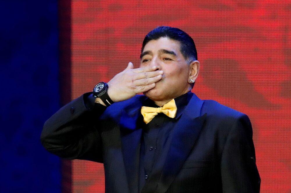 Diego Maradona w Kremlu, 2017 rok