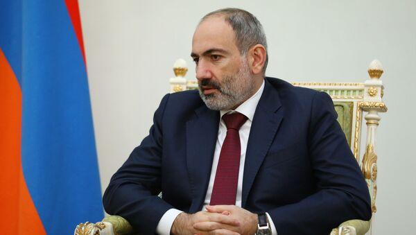 Premier Armenii Nikol Paszinian - Sputnik Polska