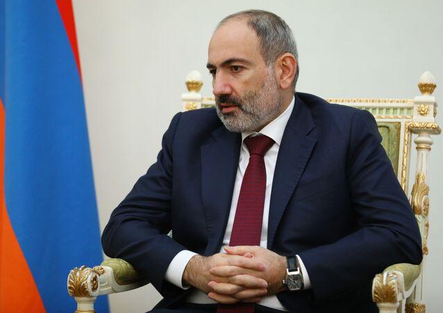 Premier Armenii Nikol Paszinian