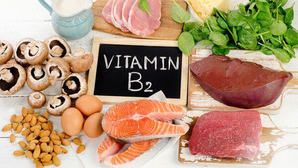 Pokarmy zawierające witaminę B2 - Sputnik Polska