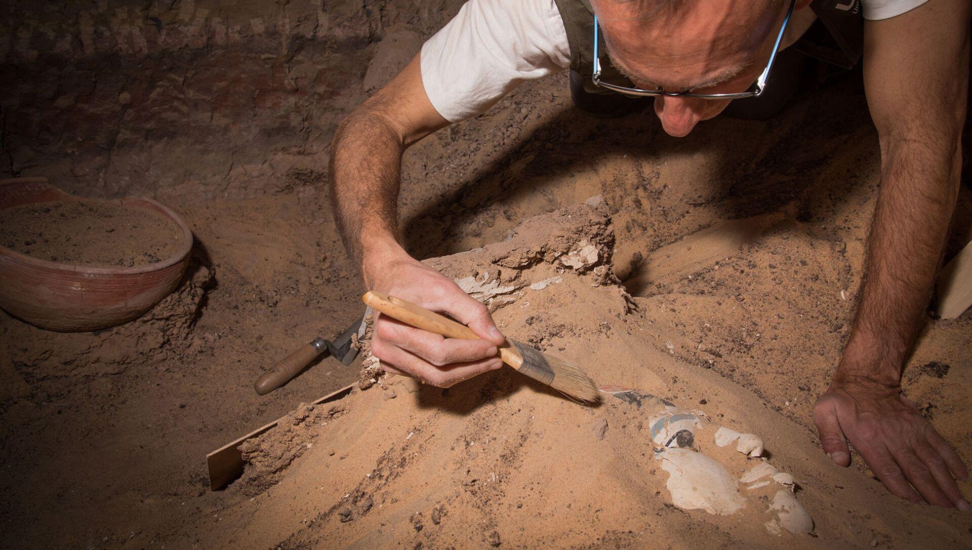 Wykopaliska archeologiczne w Qubbet el-Hawa, Egipt. - Sputnik Polska, 1920, 17.04.2021