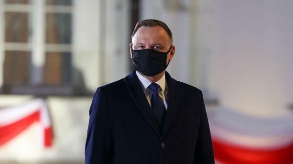 Prezydent Andrzej Duda - Sputnik Polska