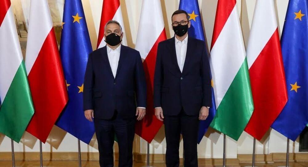 Spotkanie premiera Mateusza Morawieckiego z premierem Węgier Viktorem Orbanem.