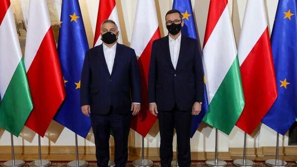 Spotkanie premiera Mateusza Morawieckiego z premierem Węgier Viktorem Orbanem - Sputnik Polska