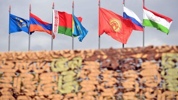 Flagi państw członkowskich OUBZ - Sputnik Polska