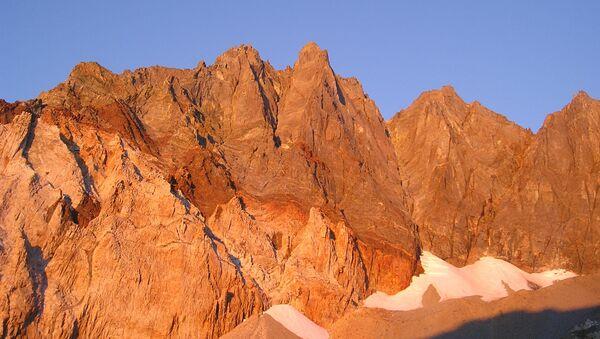 Split Mountain w Kalifornii - Sputnik Polska