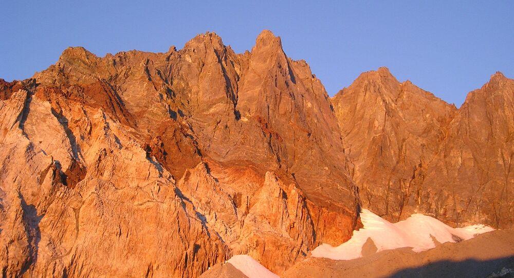 Split Mountain w Kalifornii