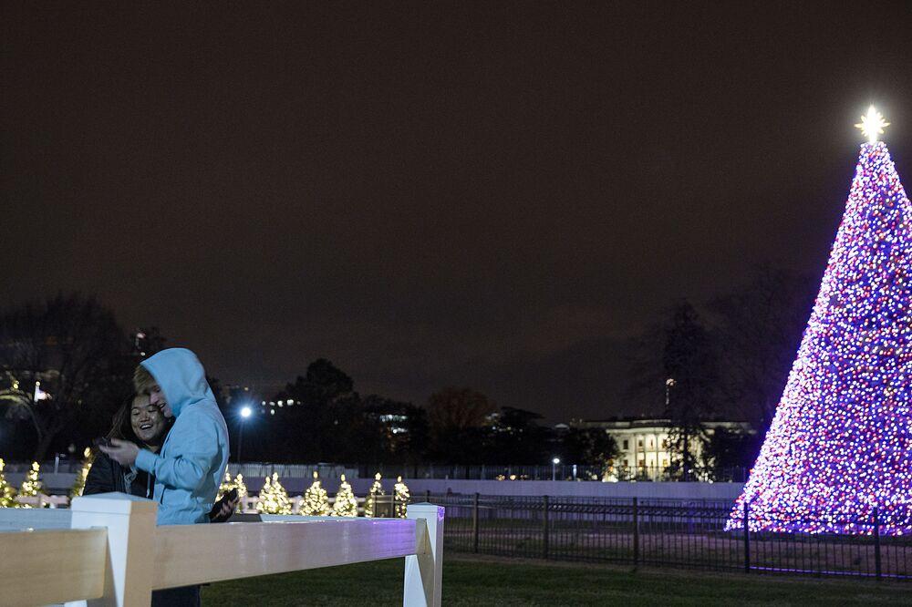 Choinka w Waszyngtonie