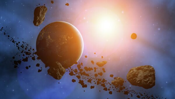 Planeta i asteriody - Sputnik Polska