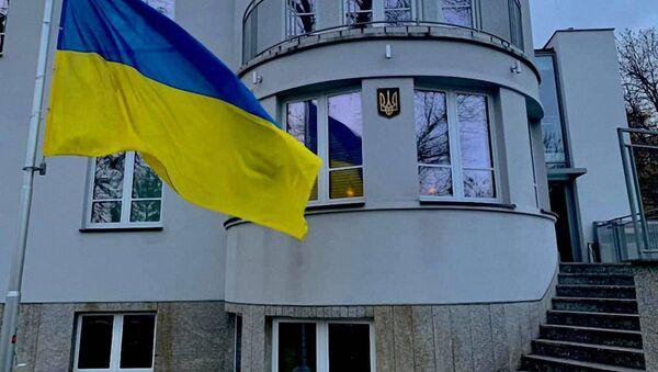 Budynek Ambasady Ukrainy w Polsce - Sputnik Polska