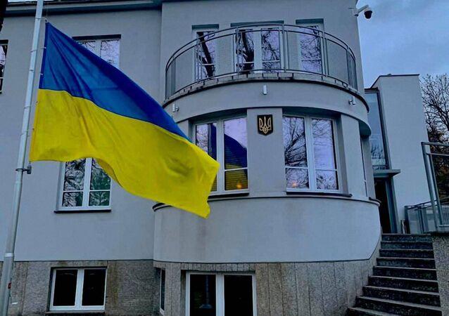 Budynek Ambasady Ukrainy w Polsce