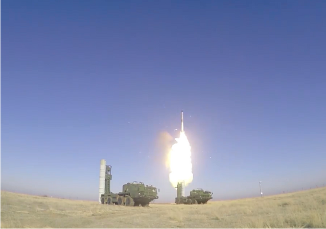 Bojowe odpalenia pocisków rakietowych S-400