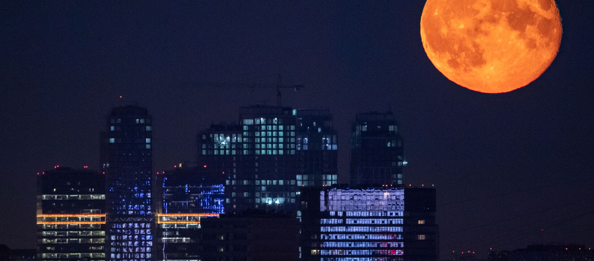 Księżyc nad Moskwą - Sputnik Polska, 1920, 18.02.2021