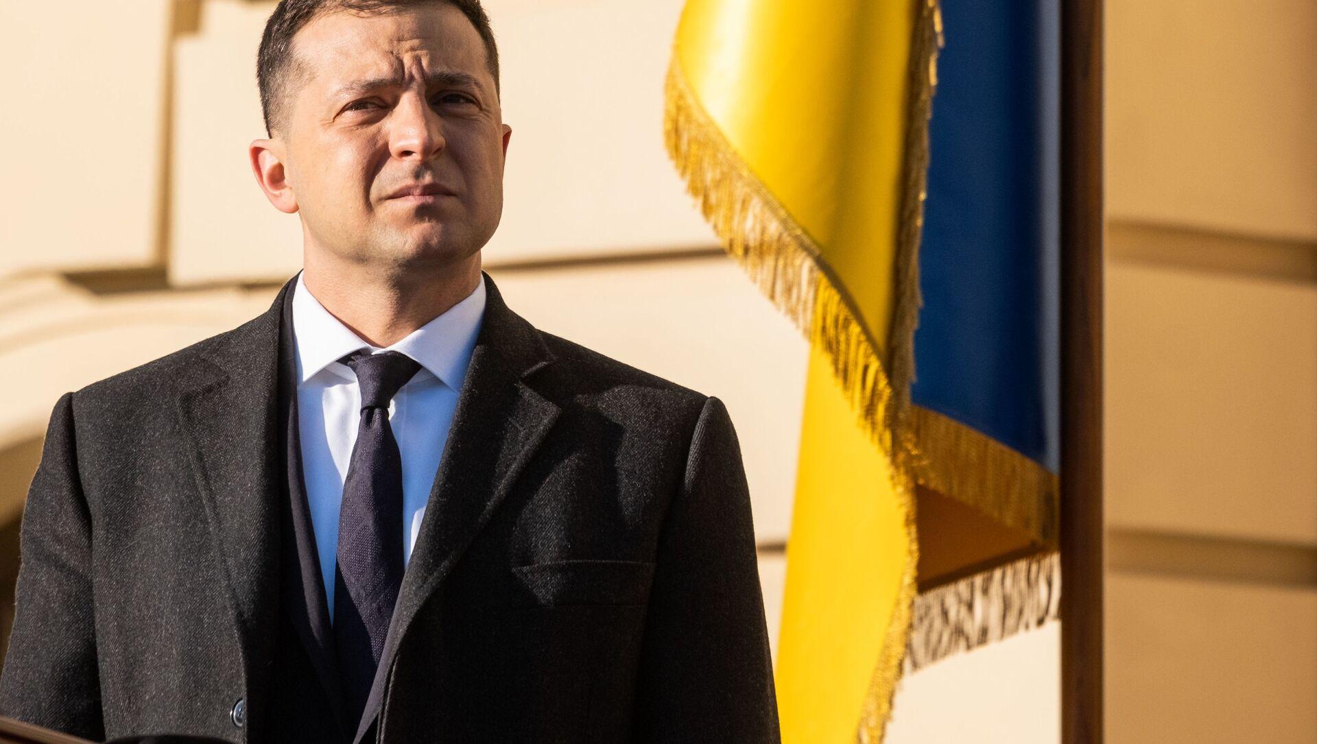 Prezydent Ukrainy Wołodymyr Zełenski - Sputnik Polska, 1920, 01.04.2021