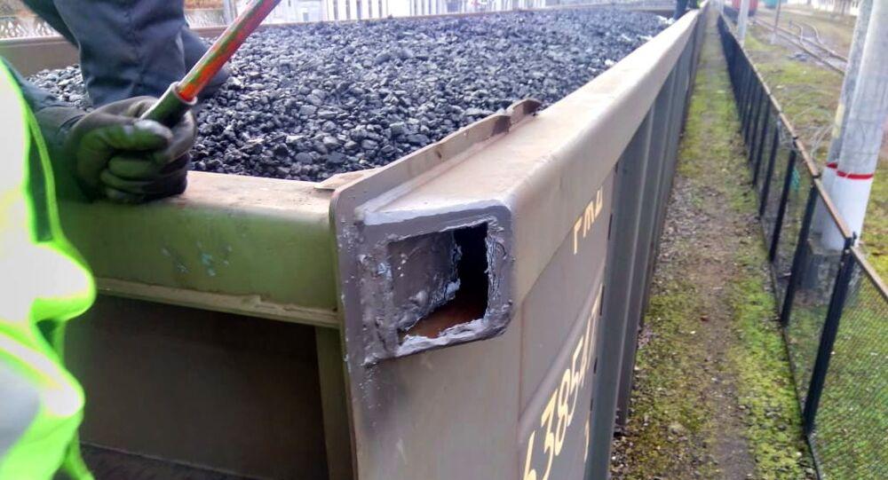 Celnicy z Kaliningradu razem ze służbą graniczną znaleźli ukryte przed kontrolą wyroby tytoniowe