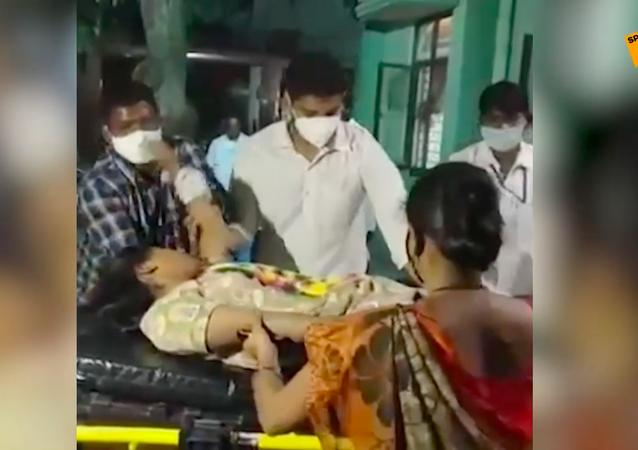 Nieznana choroba w Indiach