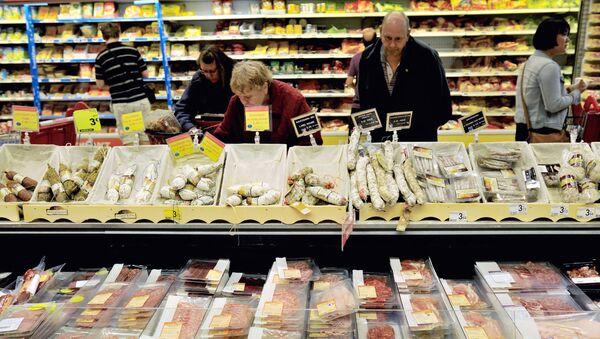 Klienci w supermarkecie Auchan - Sputnik Polska