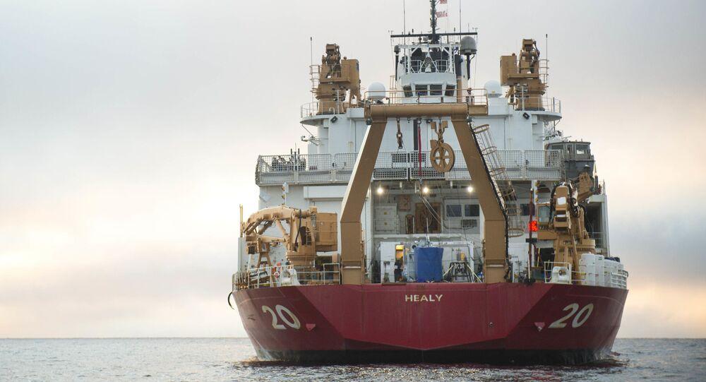 Największy amerykański lodołamacz USCGC Healy