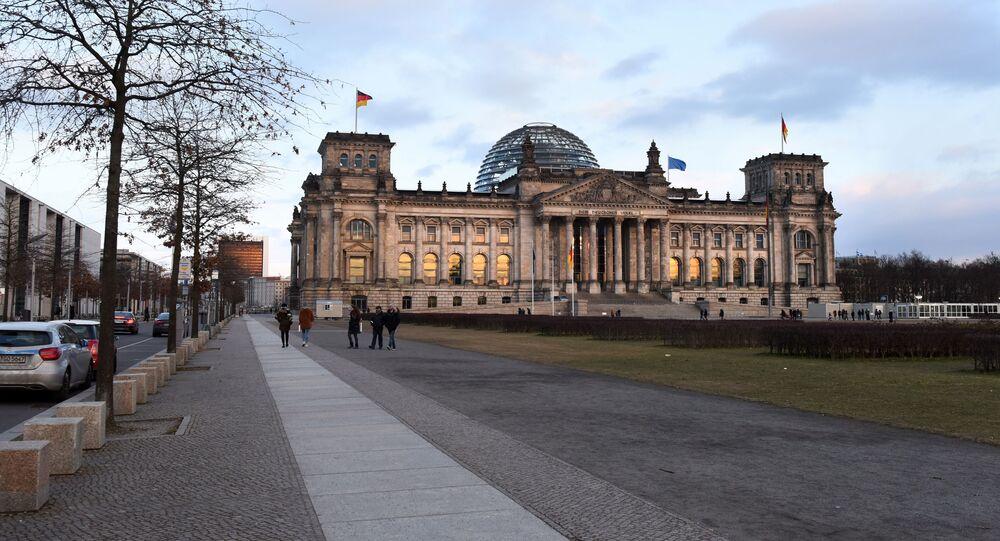 Gmach parlamentu Rzeszy w Berlinie.