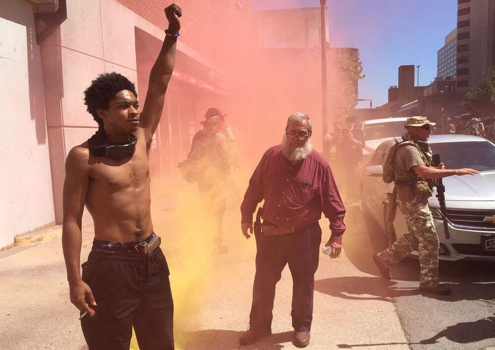 Protesty po śmierci Afroamerykanina George'a Floyda w Louisville