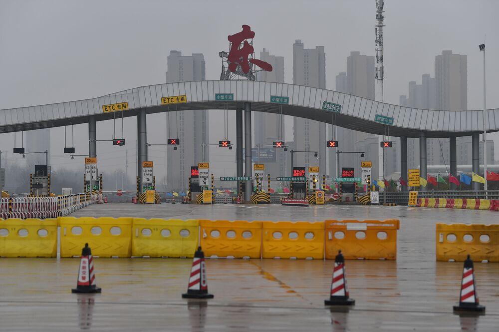 Koronawuris w chińskim mieście Wuhan