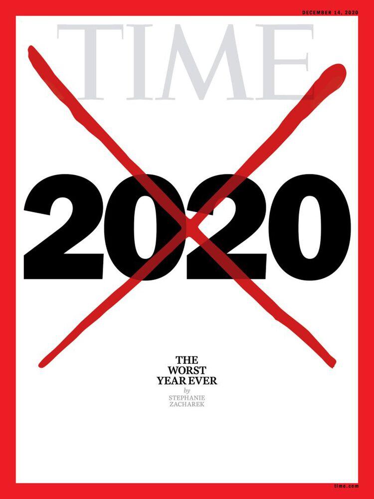 Okładka numeru magazynu Time w grudniu 2020 roku