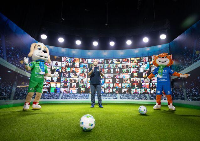 Międzynarodowy program integracyjny dla dzieci Piłka Nożna dla Przyjaźni jest realizowany przez Gazprom
