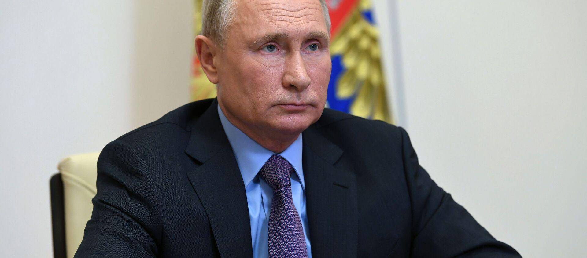 Prezydent Rosji Władimir Putin. - Sputnik Polska, 1920, 29.01.2021