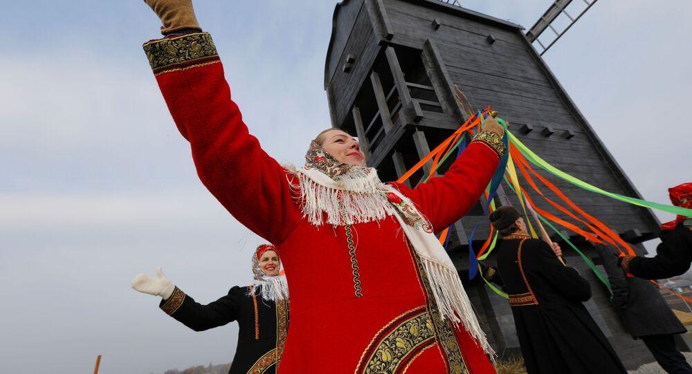 Otwarcie historycznego i kulturowego kompleksu etnograficznego w regionie Biełgorodu