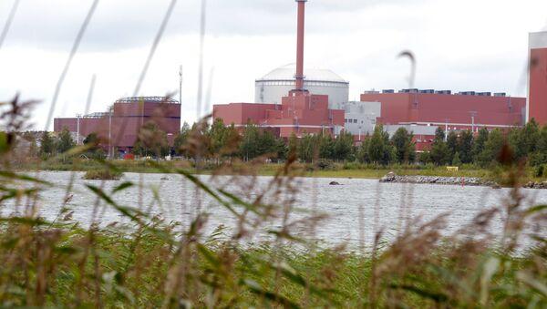 Elektrownia jądrowa Olkiluoto w Finlandii - Sputnik Polska