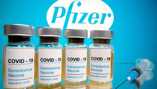Szczepionka przeciwko COVID-19 firmy Pfizer - Sputnik Polska