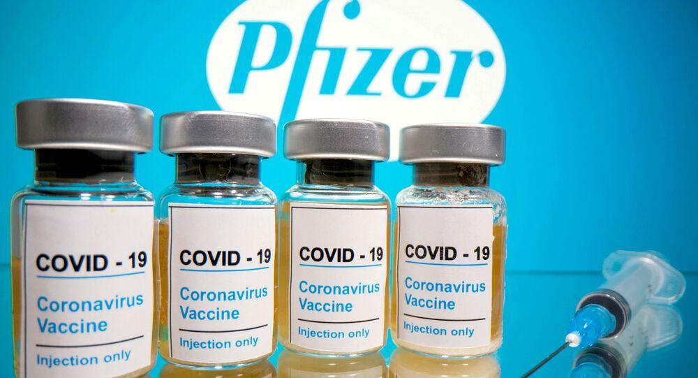 Szczepionka przeciwko COVID-19 firmy Pfizer.
