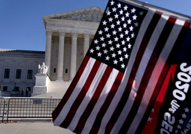 Gmach Sądu Najwyższego USA w Waszyngtonie.