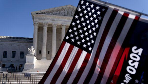 Gmach Sądu Najwyższego USA w Waszyngtonie. - Sputnik Polska