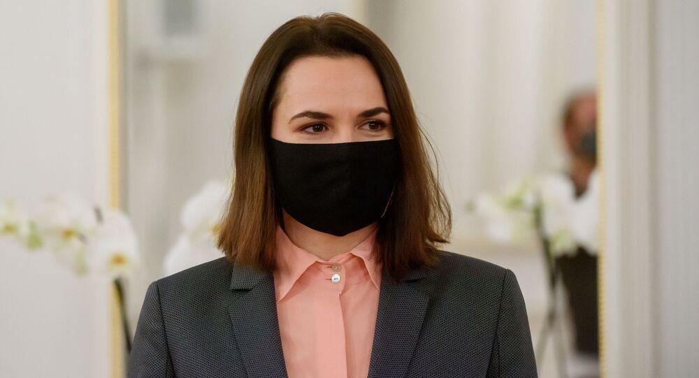Była kandydatka w wyborach prezydenckich na Białorusi, liderka białoruskiej opozycji Swiatłana Cichanouska.