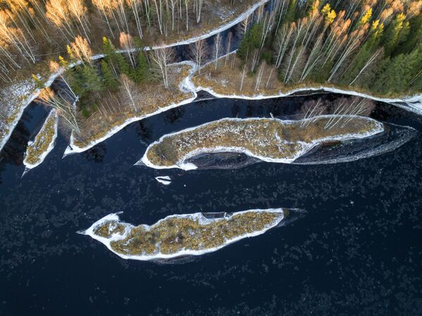 Rzeka Szuja w Karelii - Sputnik Polska