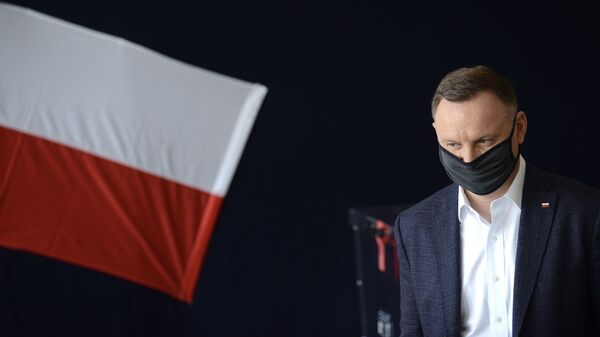 Prezydent RP Andrzej Duda - Sputnik Polska