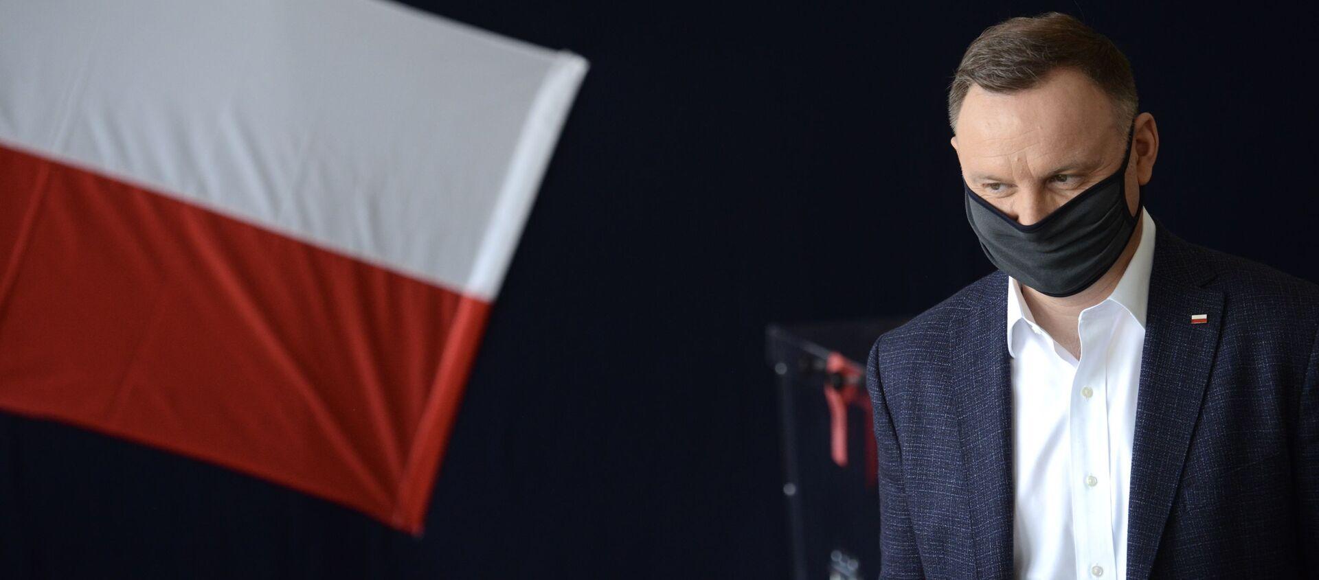 Prezydent RP Andrzej Duda - Sputnik Polska, 1920, 13.12.2020