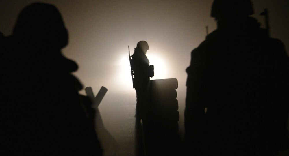 Żołnierz armii Armenii.