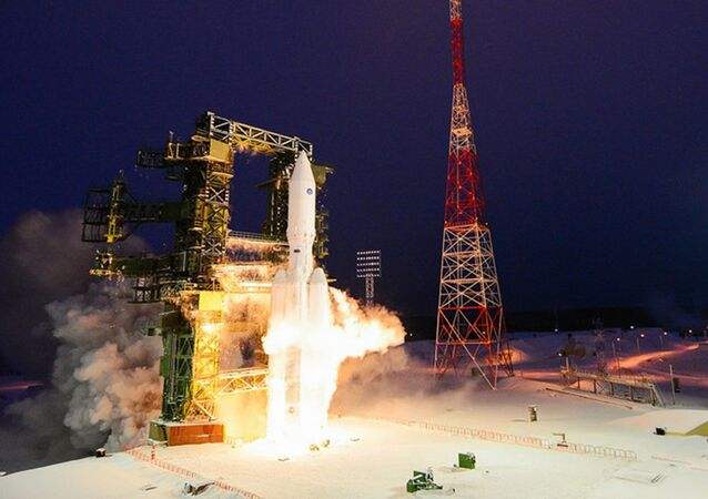 Z kosmodromu Plesieck w obwodzie archangielskim wystrzelono rakietę nośną Angara-A5.