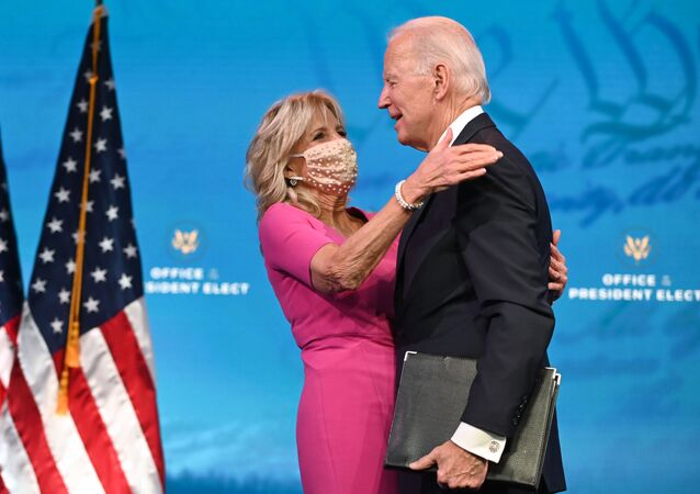 Prezydent elekt Joe Bidena z żoną