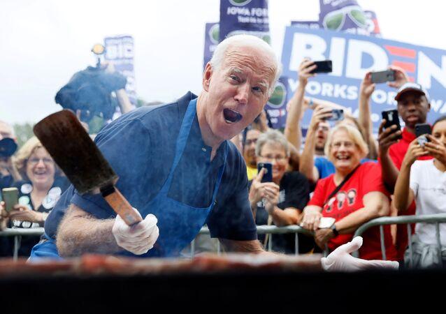 Joe Biden podczas kampanii wyborczej