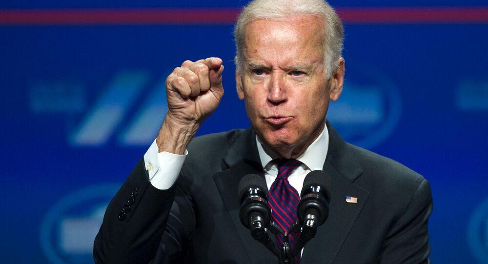 Wiceprezydent USA Joe Biden, 2016 rok