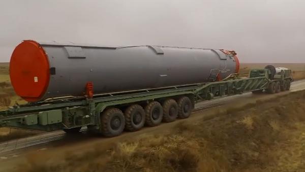 """W obwodzie orenburskim ustanawiany jest nowy system rakietowy """"Awangard"""" - Sputnik Polska"""