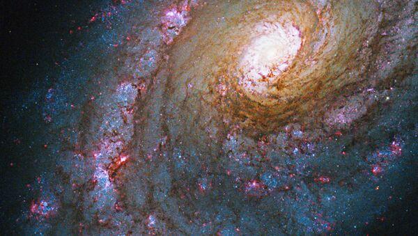 Galaktyka NGC 5248 w gwiazdozbiorze Wolarza - Sputnik Polska