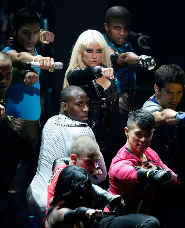 Christina Aguilera podczas MTV Video Music Awards 2008 - Sputnik Polska