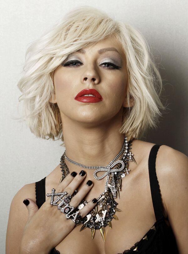 Christina Aguilera w 2010 roku - Sputnik Polska