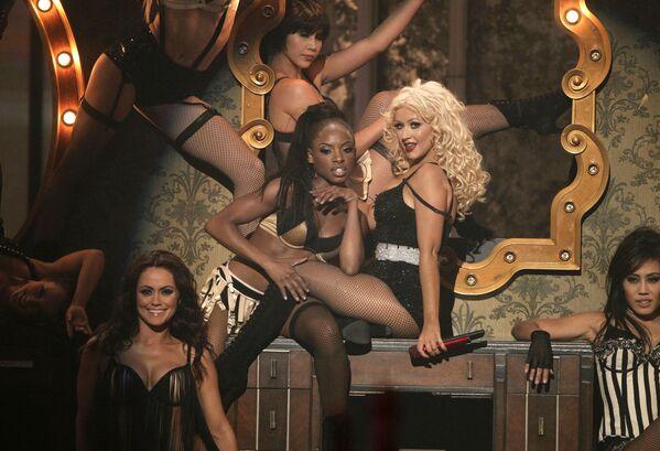 Christina Aguilera podczas American Music Awards 2010 - Sputnik Polska