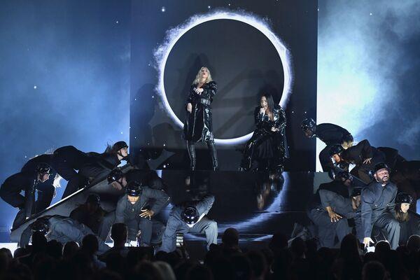Christina Aguilera i Demi Lovato podczas 2018 Billboard Music Awards - Sputnik Polska