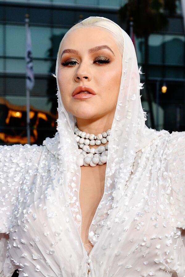 Christina Aguilera w 2019 roku - Sputnik Polska